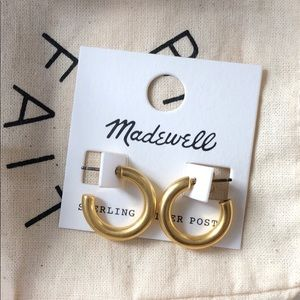 🆕 Madewell Chunky Small Hoops
